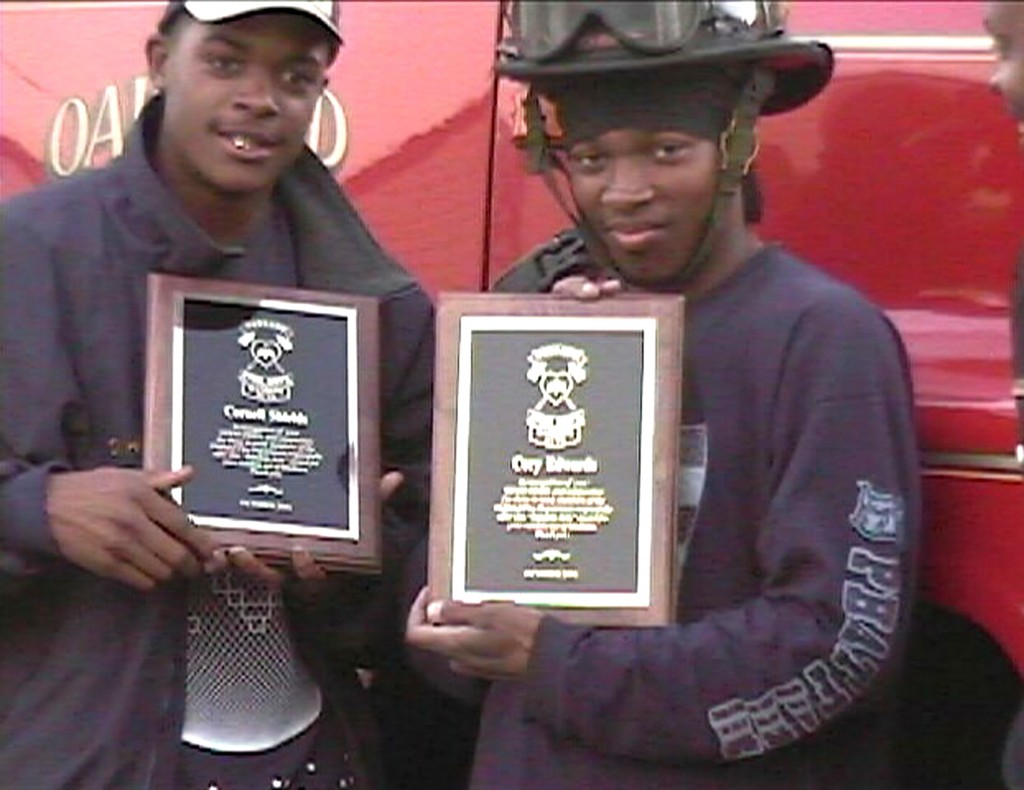 Citizen Hero Cornell Shields & Cory Edwards 2